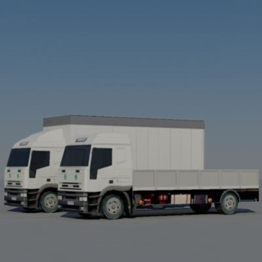车辆卡车 royalty-free 3d model - Preview no. 4