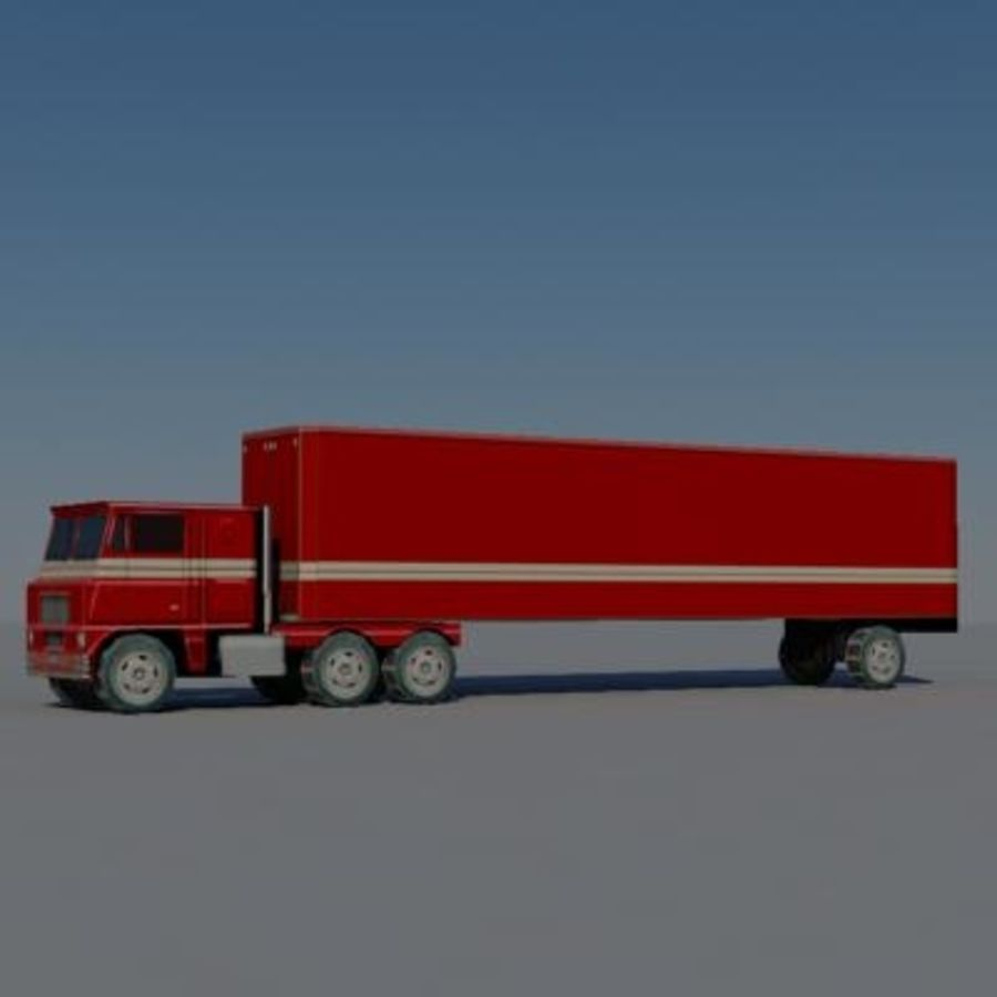vehicle truck b royalty-free 3d model - Preview no. 4