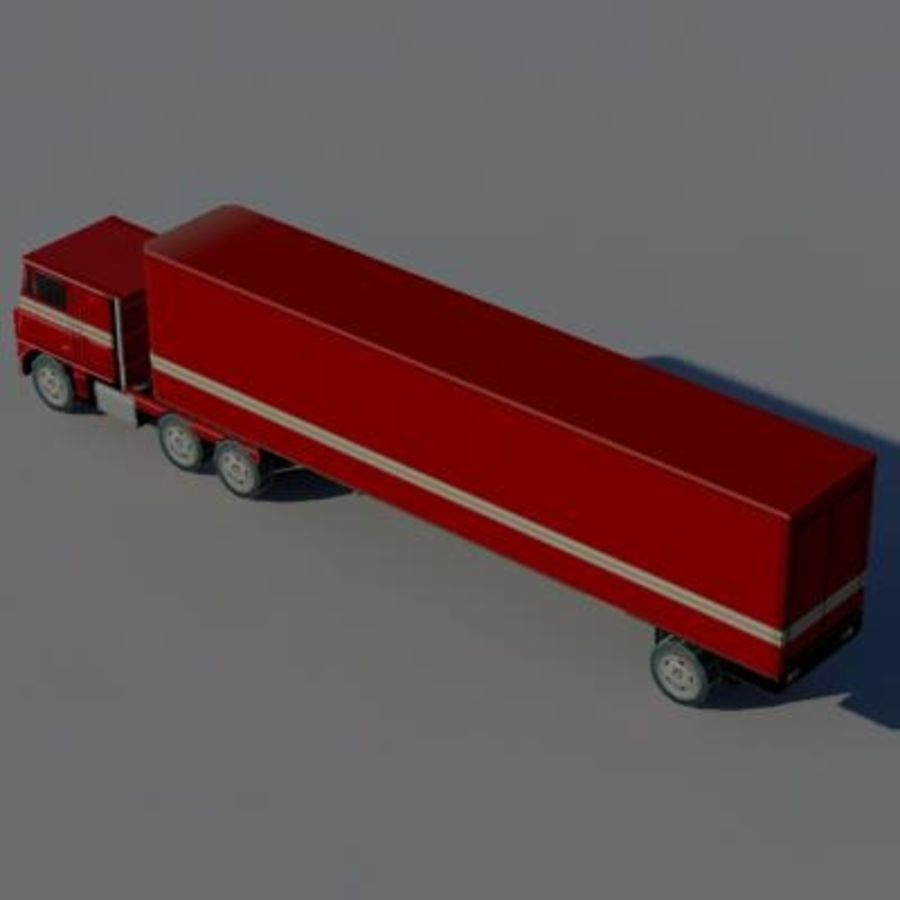 vehicle truck b royalty-free 3d model - Preview no. 3