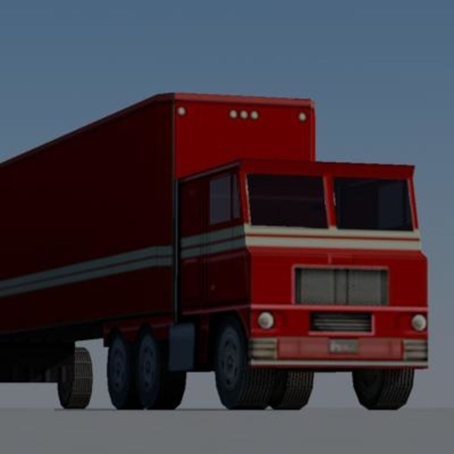 vehicle truck b royalty-free 3d model - Preview no. 2