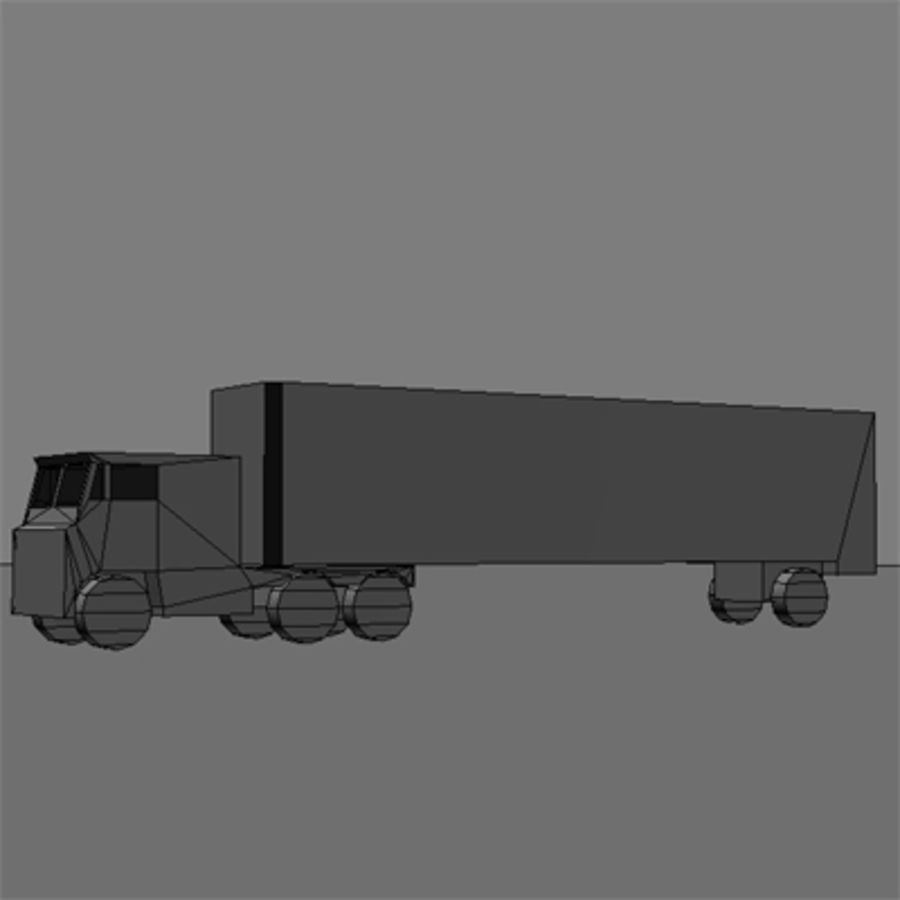 vehicle truck b royalty-free 3d model - Preview no. 5