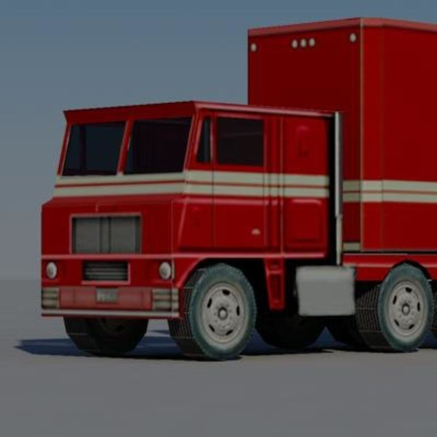 vehicle truck b royalty-free 3d model - Preview no. 1