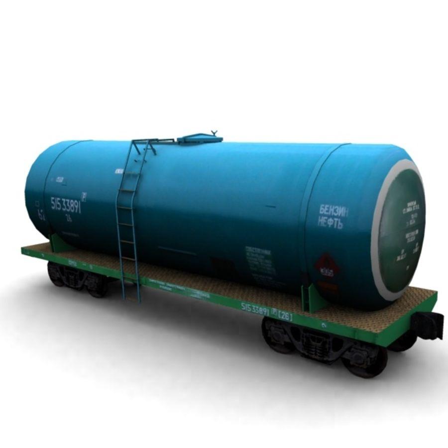 cistern_vagon royalty-free 3d model - Preview no. 1