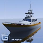 3D Boat 07 3d model