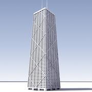 3Dジョンハンコックセンター 3d model