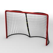 曲棍球的目标 3d model