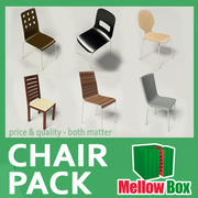 现代椅子包 3d model