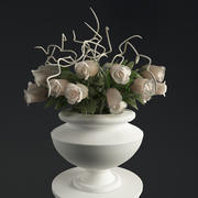 column_whith_rose.rar 3d model