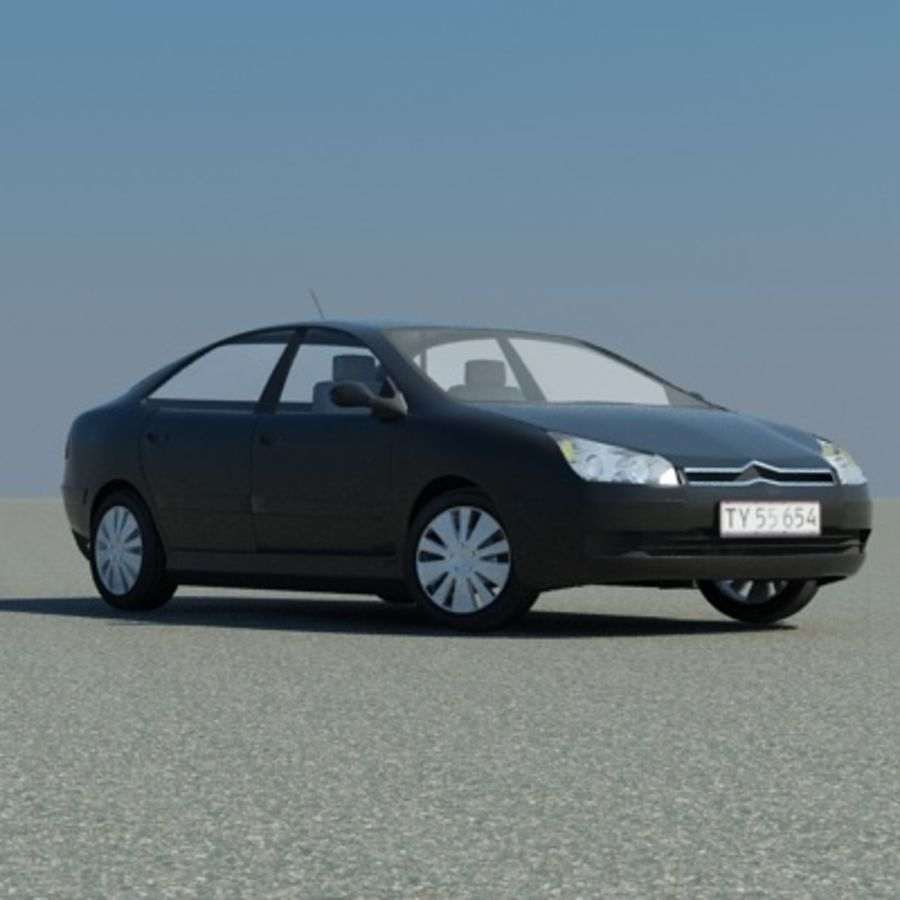 Citroen C5 royalty-free 3d model - Preview no. 1