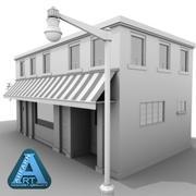 Building 26 Town Shop 3d model