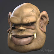 Goblin Head 3d model