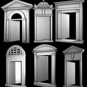Arches Doors Windows 3d model