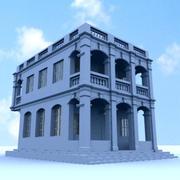 Budynek II 3d model