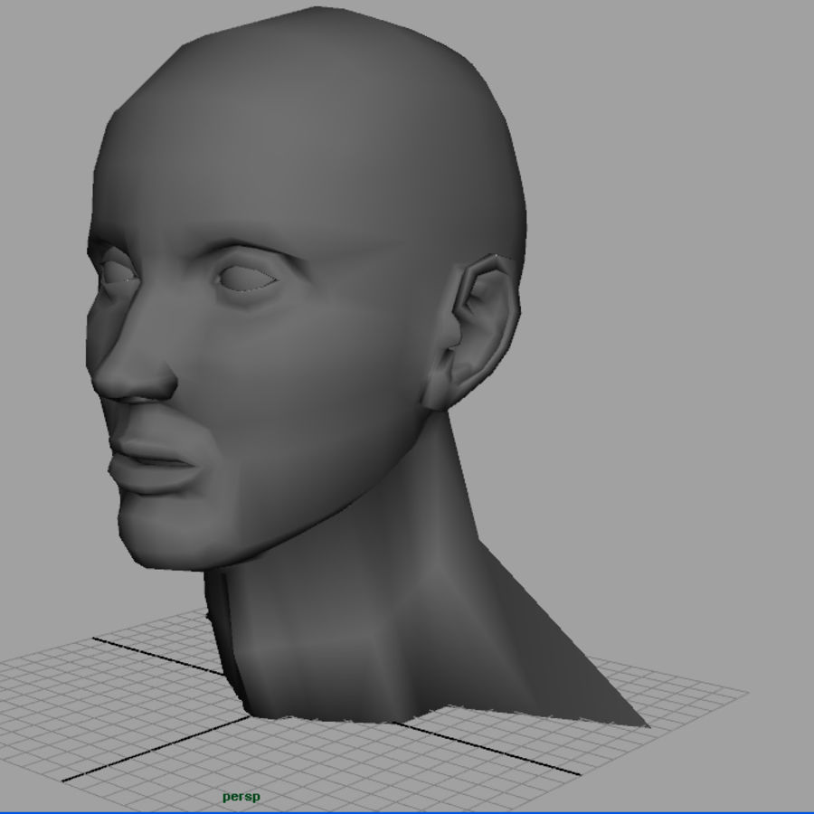 Busto royalty-free modelo 3d - Preview no. 2