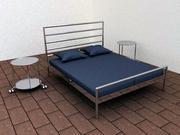 海姆达尔床by IKEA.c4d 3d model