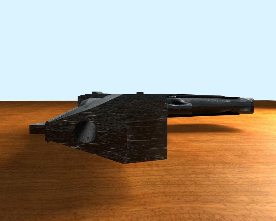 desert eagle royalty-free 3d model - Preview no. 2