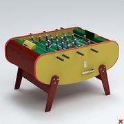 Fussball table01 3d model