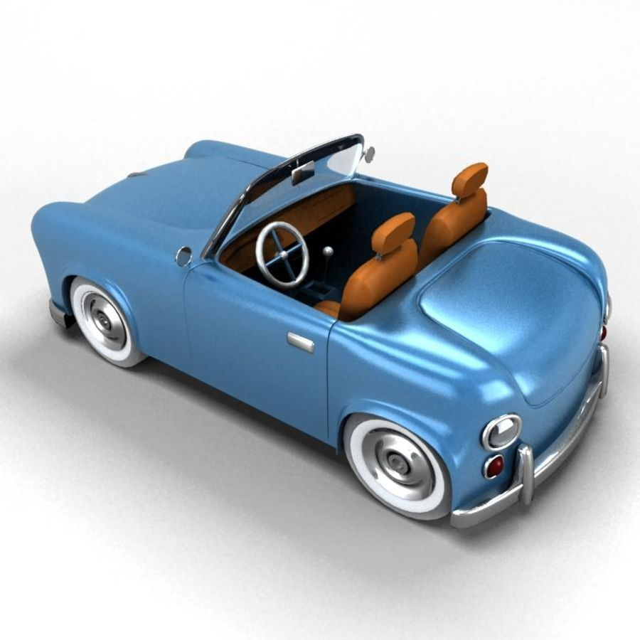 car royalty-free 3d model - Preview no. 7