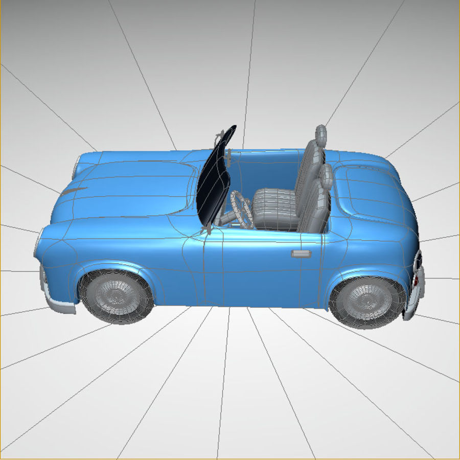 car royalty-free 3d model - Preview no. 10