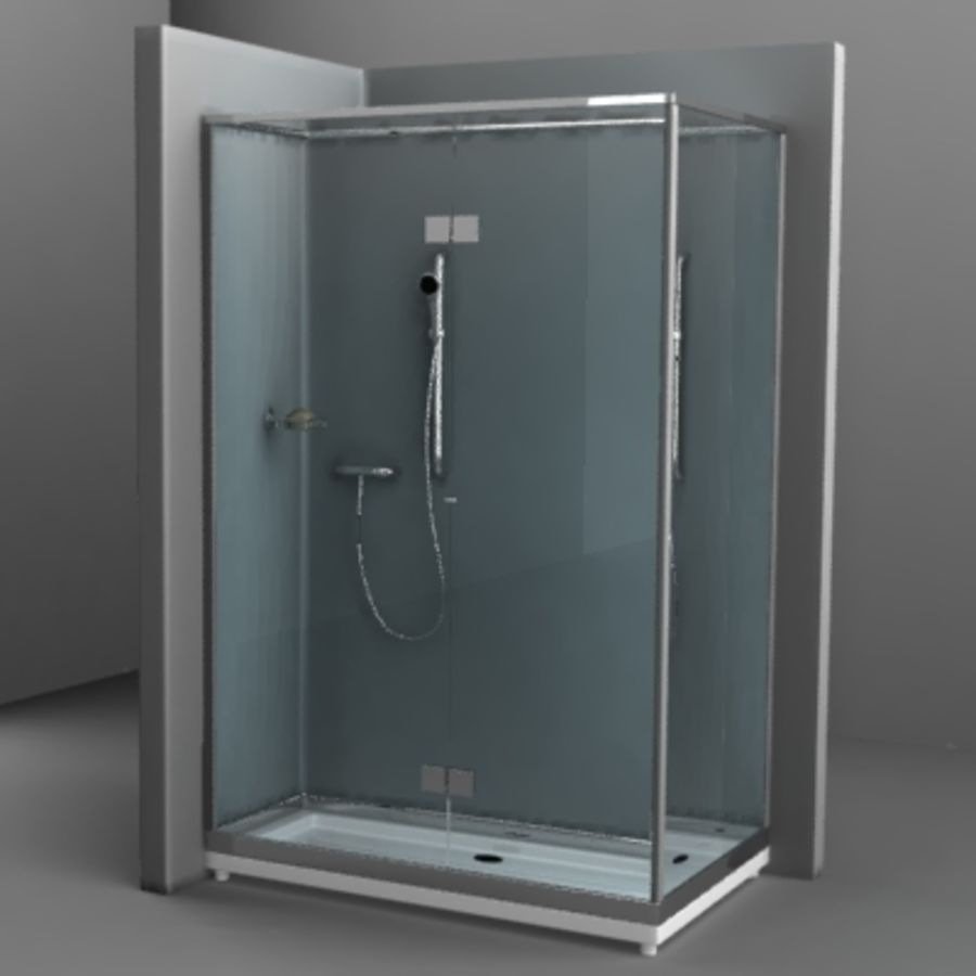 shower8.obj royalty-free 3d model - Preview no. 1