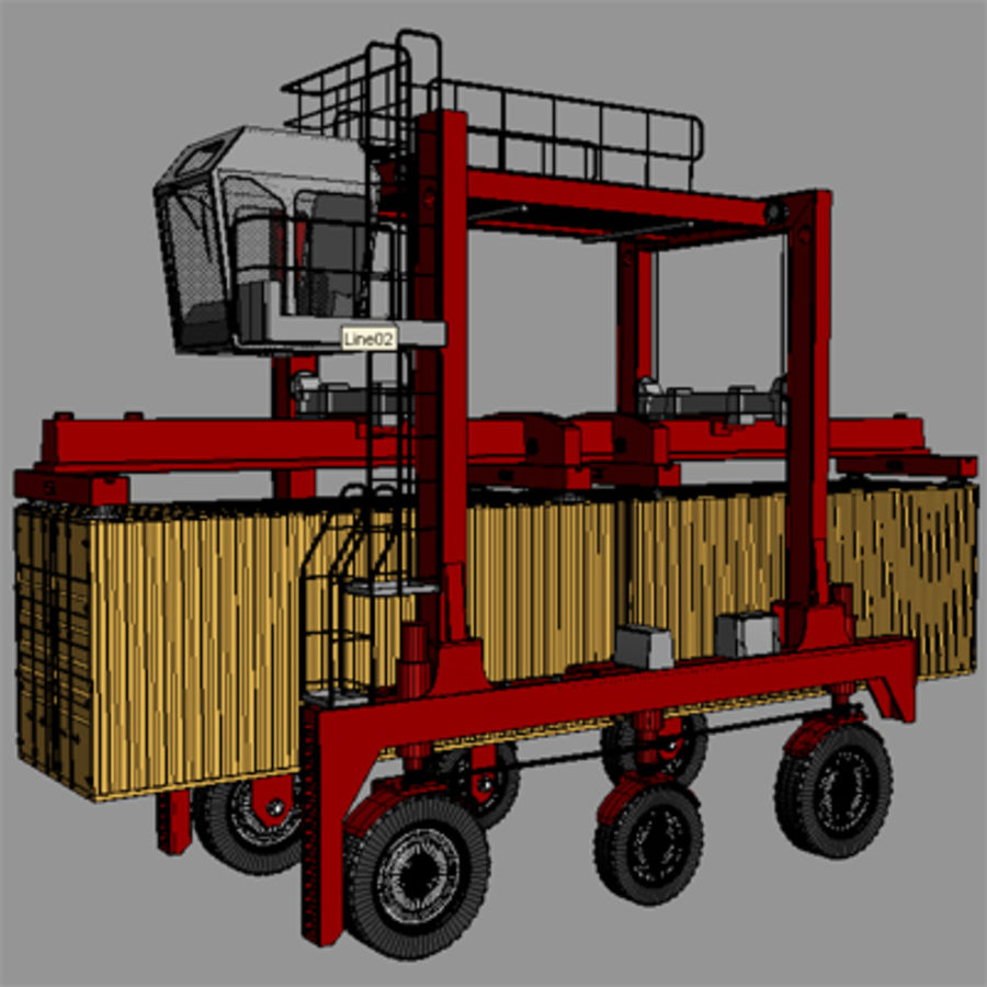 3D Shuttle Carrier.zip royalty-free 3d model - Preview no. 7
