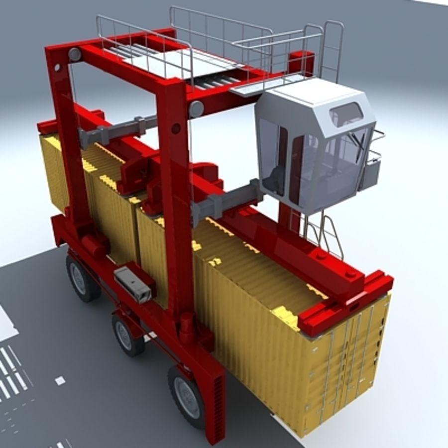 3D Shuttle Carrier.zip royalty-free 3d model - Preview no. 4