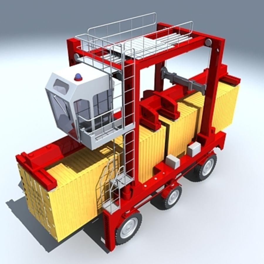 3D Shuttle Carrier.zip royalty-free 3d model - Preview no. 2