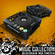 Musik - DJ-Ausrüstung - CDJ1000 3d model