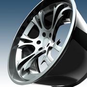 Çılgın Araba Jantı 3d model