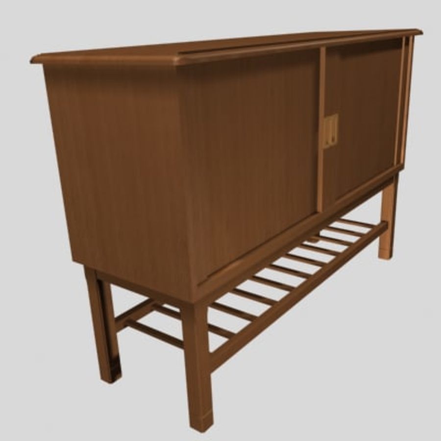 muebles 001 royalty-free modelo 3d - Preview no. 1