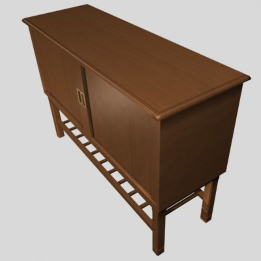 muebles 001 royalty-free modelo 3d - Preview no. 2