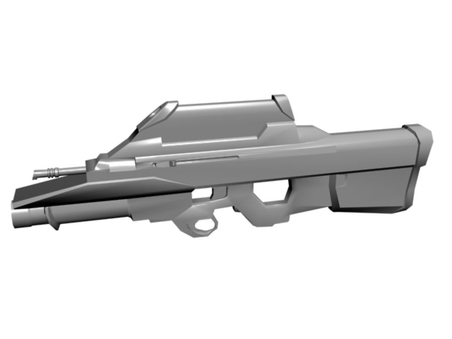 FN F2000 royalty-free 3d model - Preview no. 1