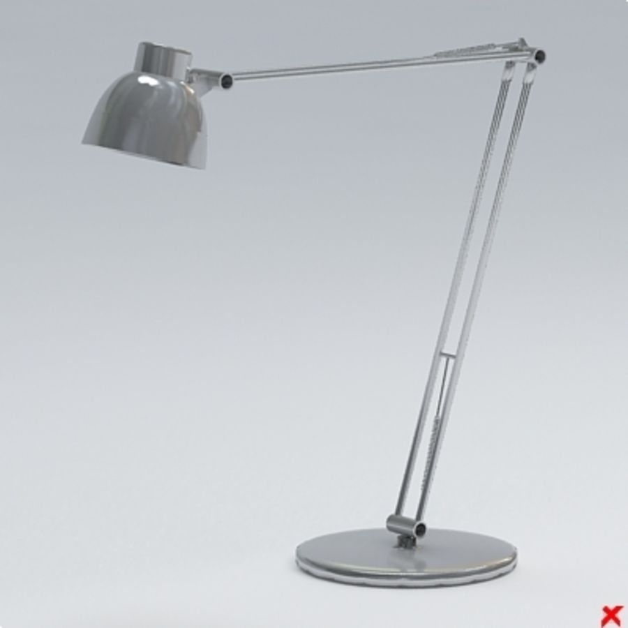 Lamp office030.ZIP royalty-free 3d model - Preview no. 2