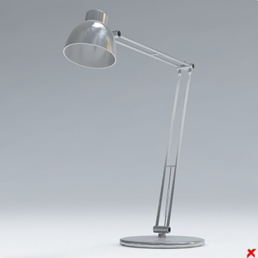 Lamp office030.ZIP royalty-free 3d model - Preview no. 1