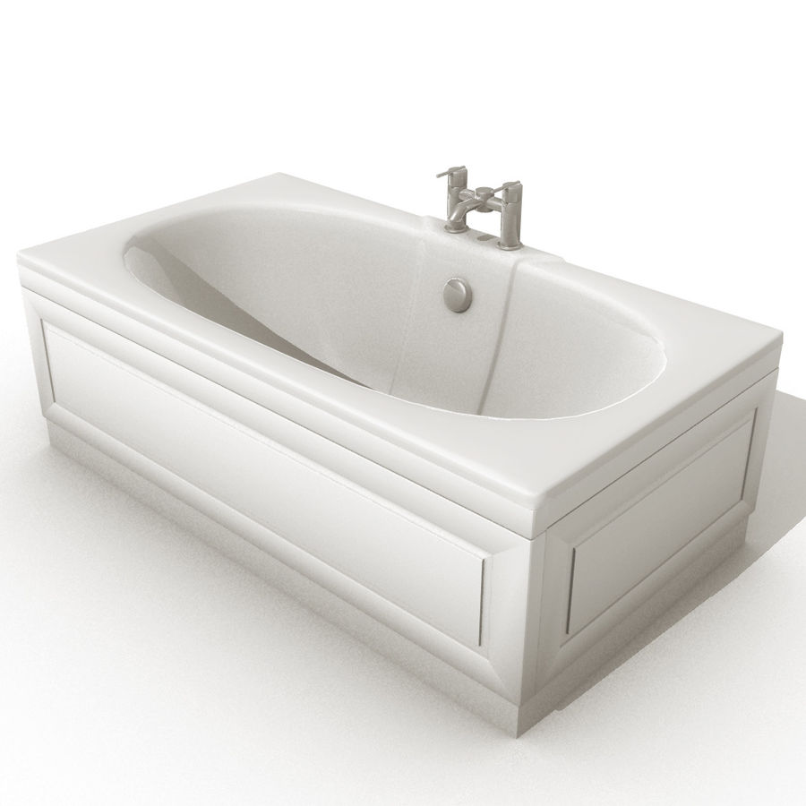 3_Baths.zip royalty-free 3d model - Preview no. 3