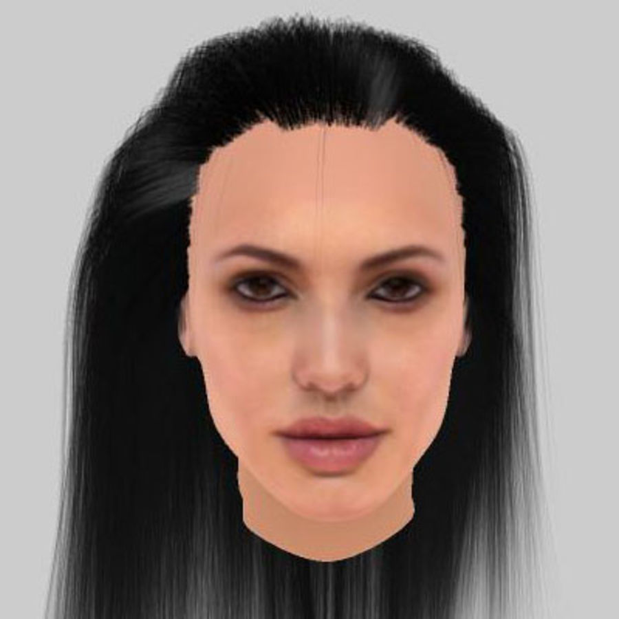 angelina2.zip royalty-free 3d model - Preview no. 2