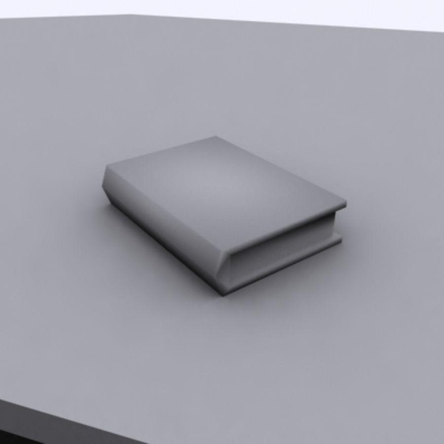 Scrivania E Sedia royalty-free 3d model - Preview no. 7