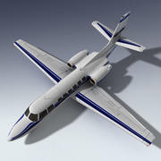 Corporate Jet Aircraft 3d model