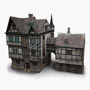 old German House 3d model