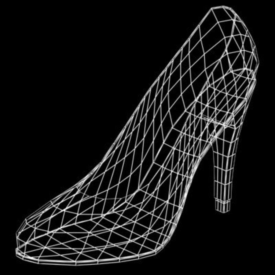 Shoe_05 royalty-free 3d model - Preview no. 8