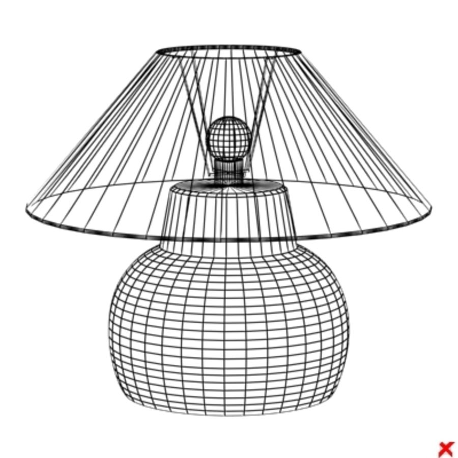 Lamp table107.ZIP royalty-free 3d model - Preview no. 2