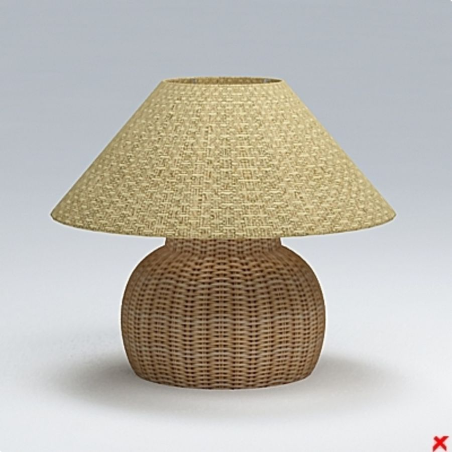 Lamp table107.ZIP royalty-free 3d model - Preview no. 1