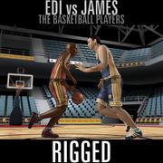 Edi vs James 3d model
