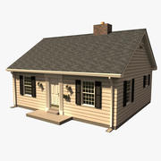 One Story House A1008A 3d model