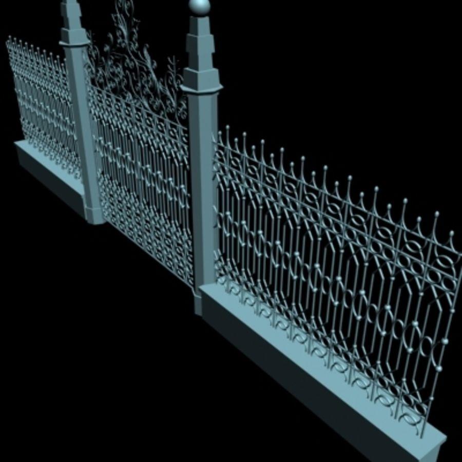 Gate royalty-free 3d model - Preview no. 6