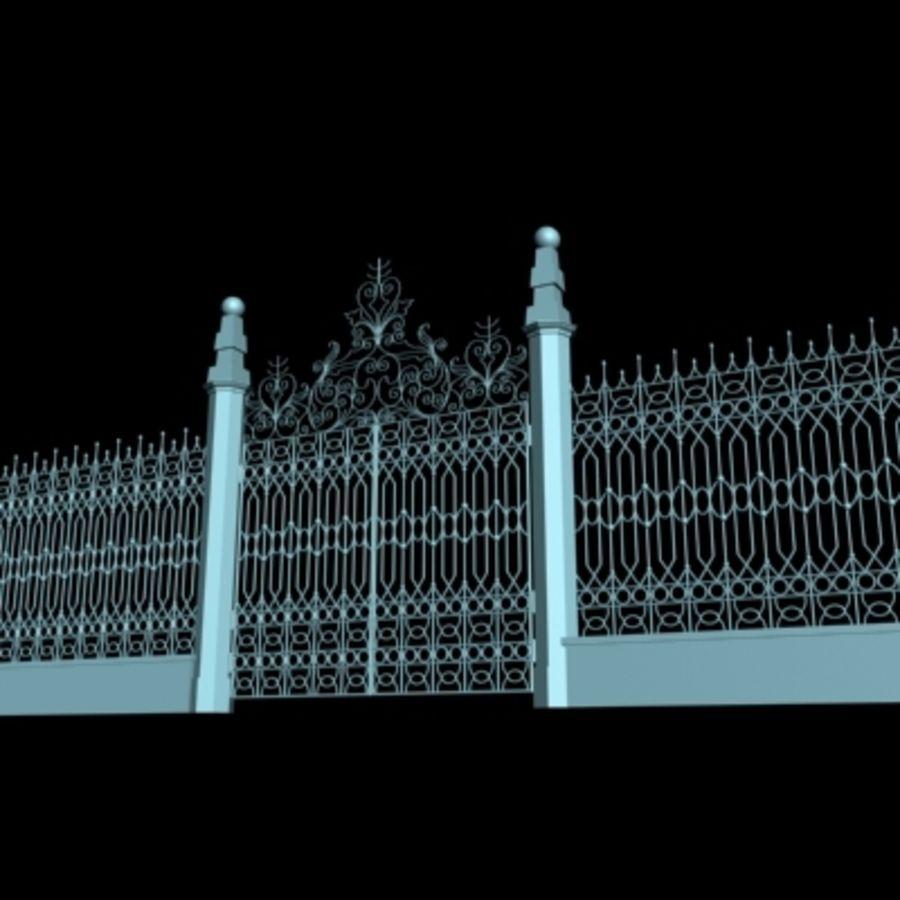 Gate royalty-free 3d model - Preview no. 2