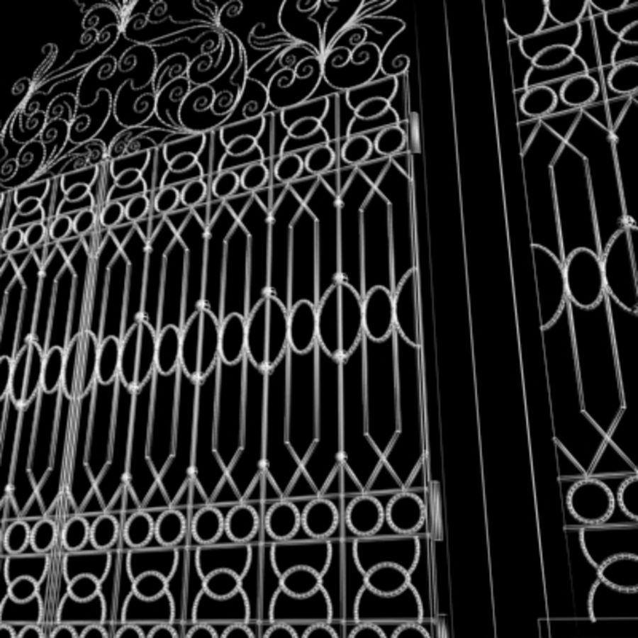Gate royalty-free 3d model - Preview no. 7