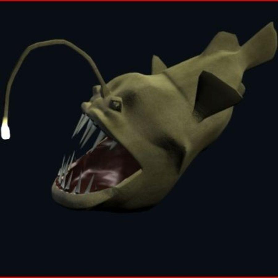 Angler Fish.rar royalty-free 3d model - Preview no. 1