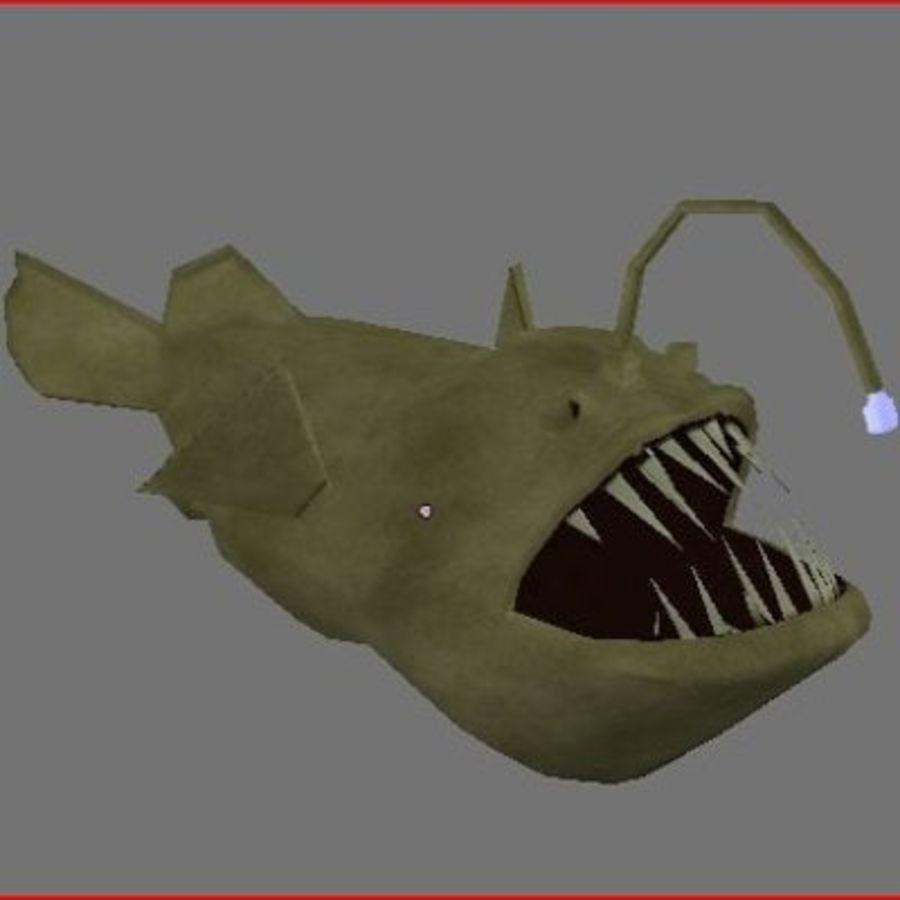 Angler Fish.rar royalty-free 3d model - Preview no. 3