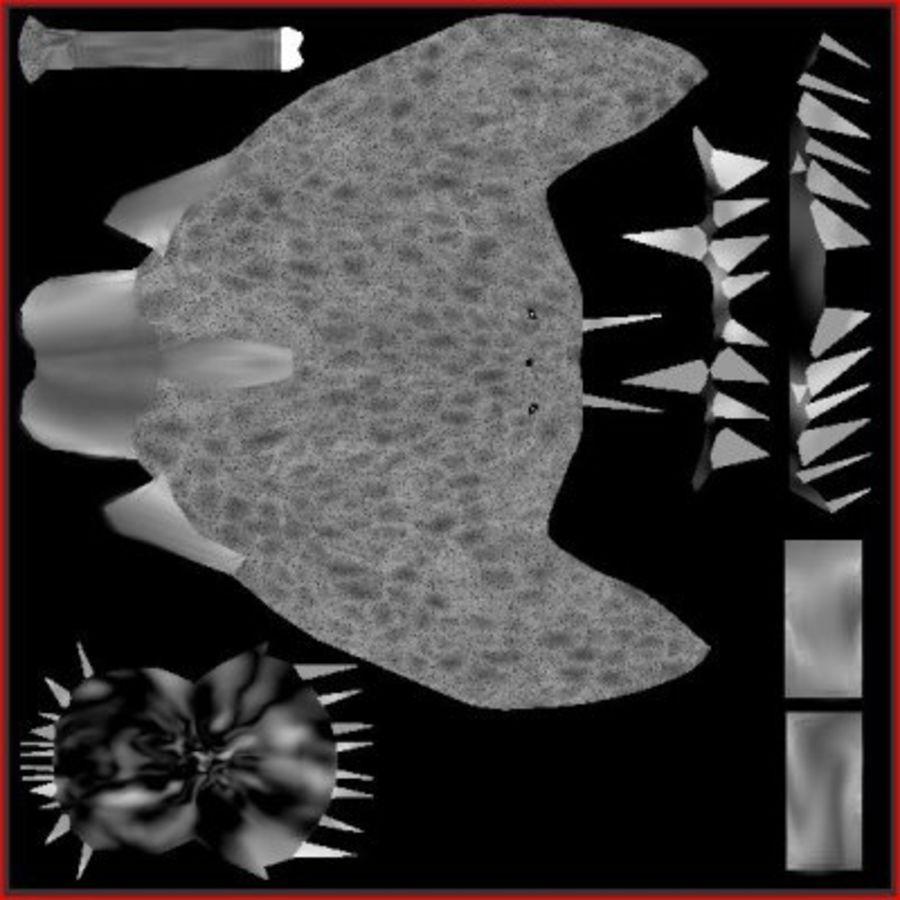 Angler Fish.rar royalty-free 3d model - Preview no. 6